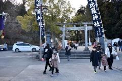 1/10 常磐湯本町、金刀比羅神社の例大祭は規模を縮小して実施