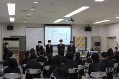 2/3 いわきコンピュータ・カレッジで卒業研究発表会