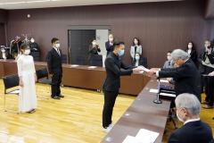 2/3 東日本国際大学別科春期修了証書授与式
